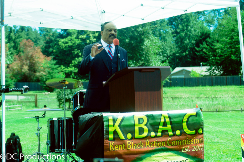 Kent Black Action Commission 2016 Juneteenth Celebration in Kent, Washington
